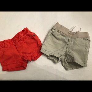 Infant GAP linen shorts